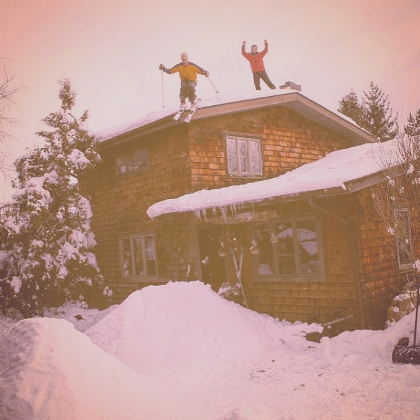 SKIER TRASH - Jacob Lutz House Drop in WV