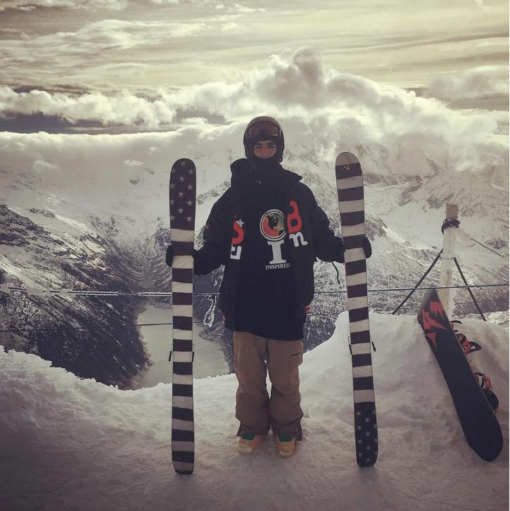J skis in the ALPZ