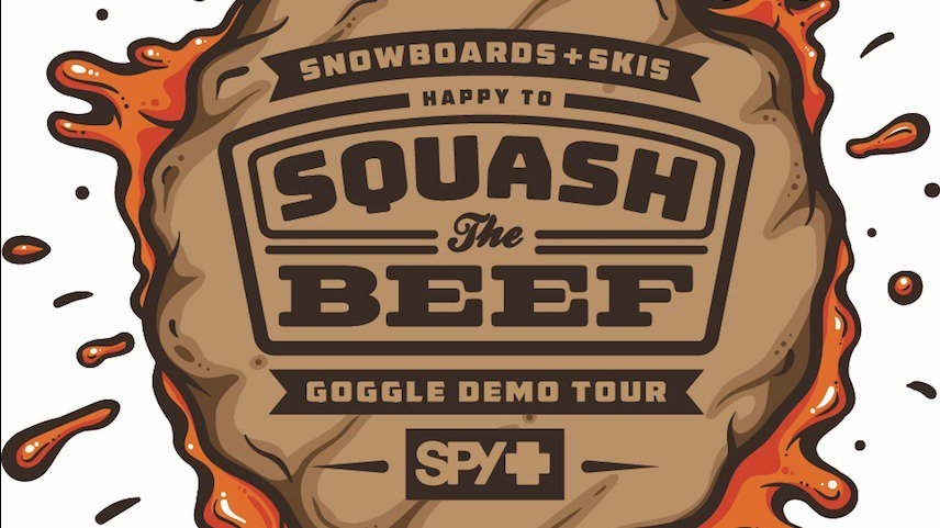 SPY LAUNCHES INAUGURAL HAPPY TO SQUASH THE BEEF GOGGLE DEMO TOUR