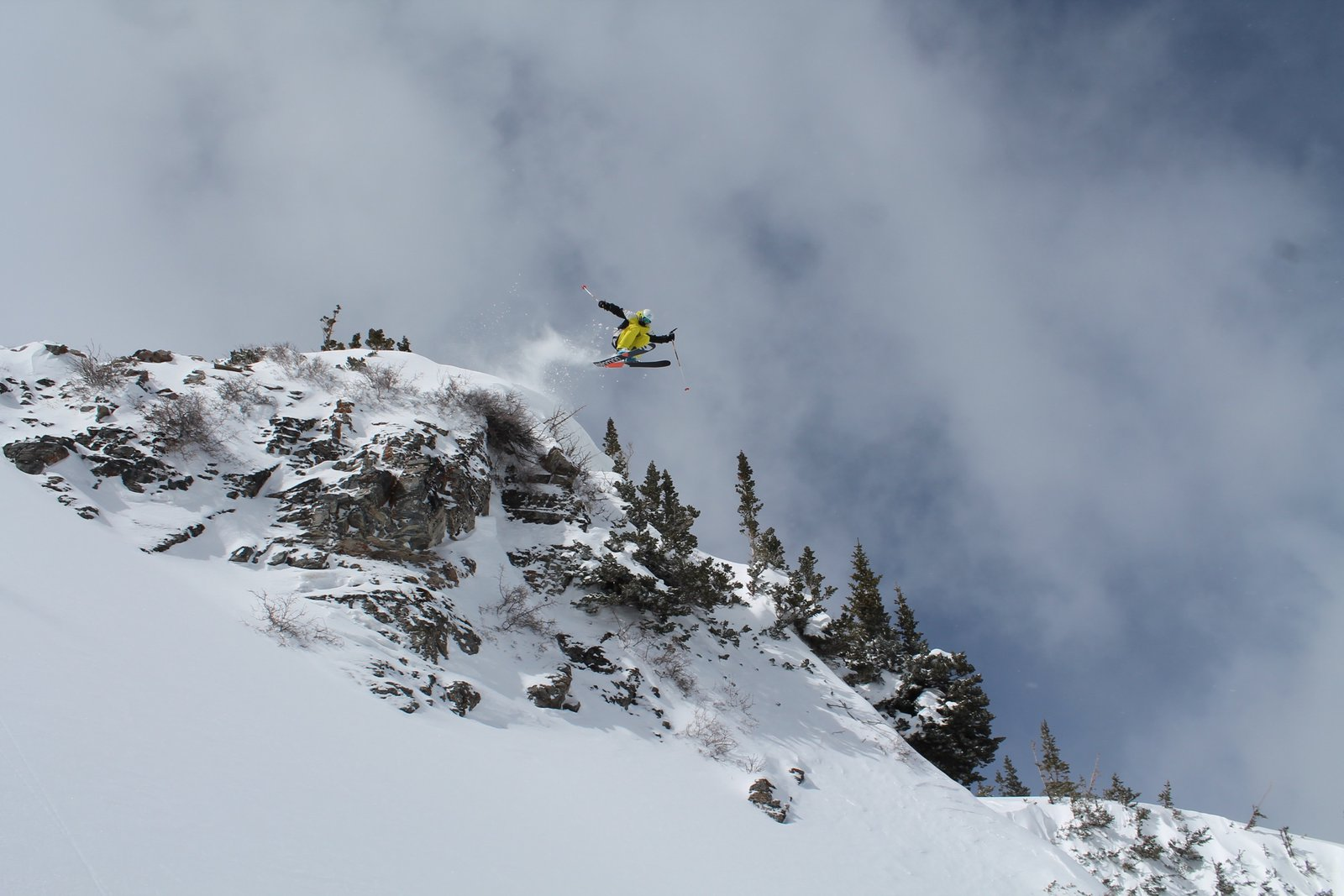 Big Air in Mineral, Snowbird
