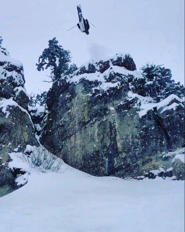 """Mile High"" Cliff On The Backside of The Beav"