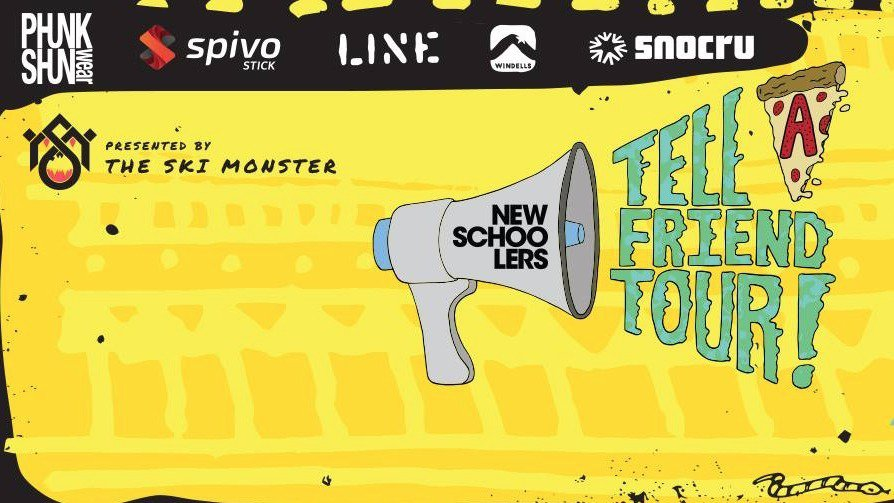 Newschoolers Tell A Friend Tour 2017 Starts NOW!