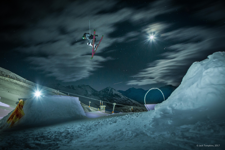 Night Session in Obergurgl, Austria