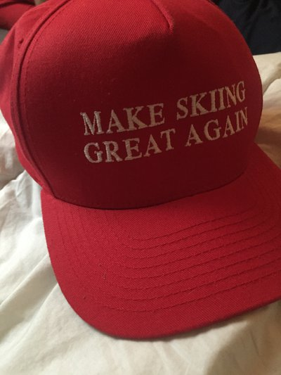 a37ea3b561f MAKE SKIING GREAT AGAIN (Full Tilt 25.5   J Skis Hat) - Sell and ...