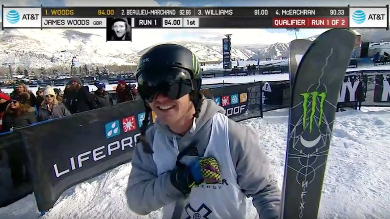 X Games Mens Slopestyle Qualifier Results