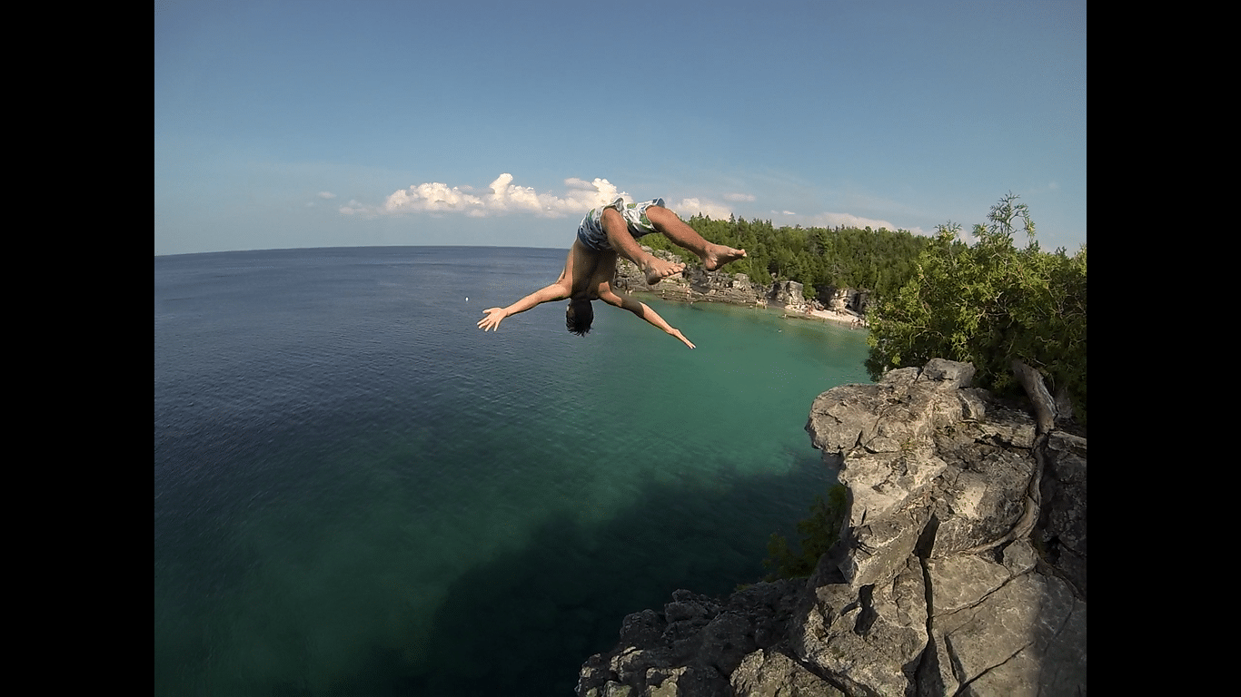 Tobermory Backflip