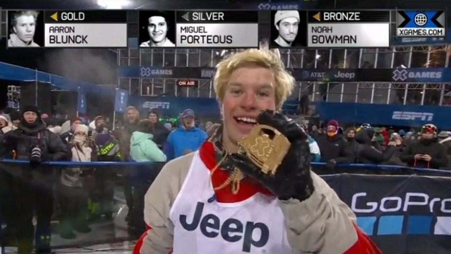 XGames Mens Pipe Results