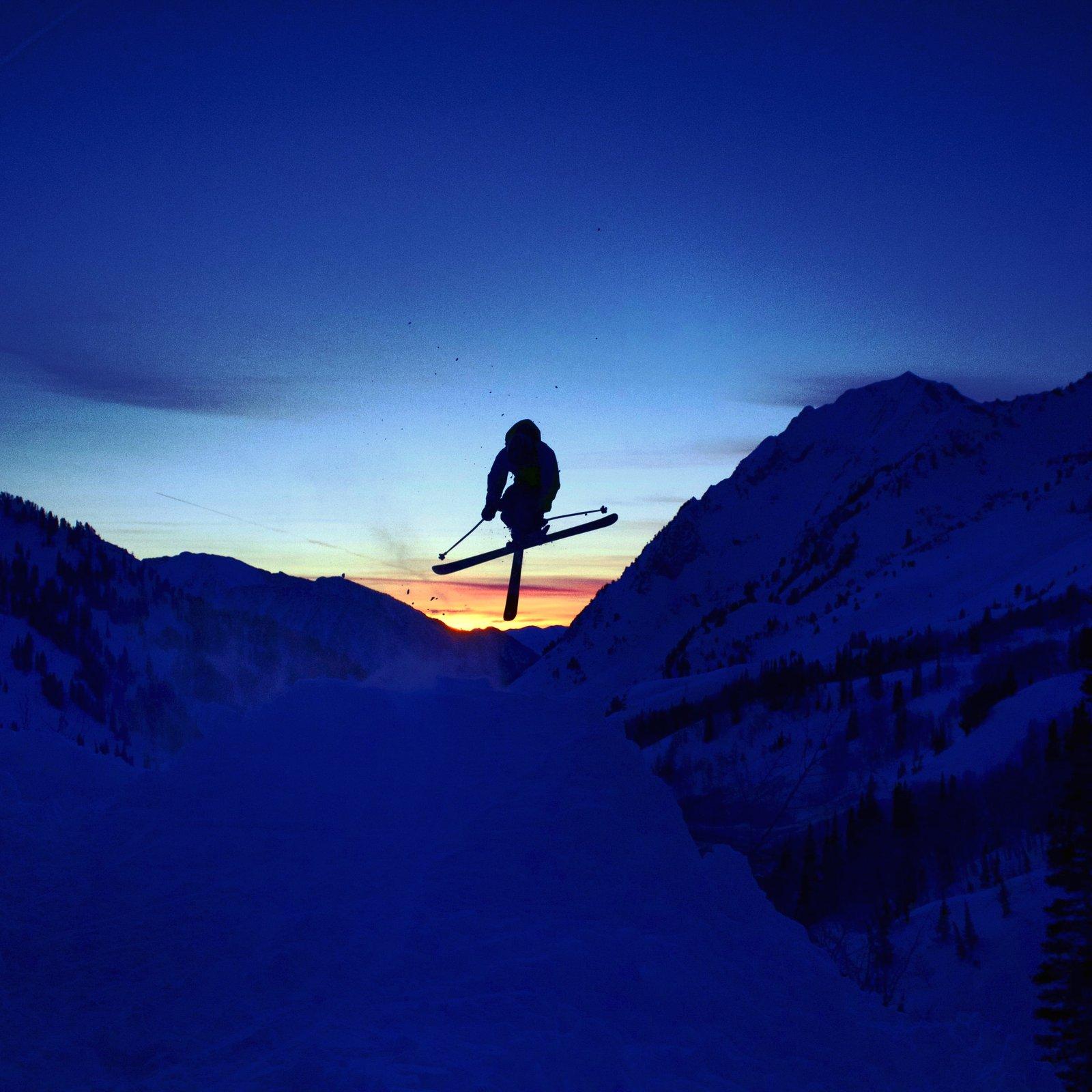 Sunset hit ( Alta Utah )