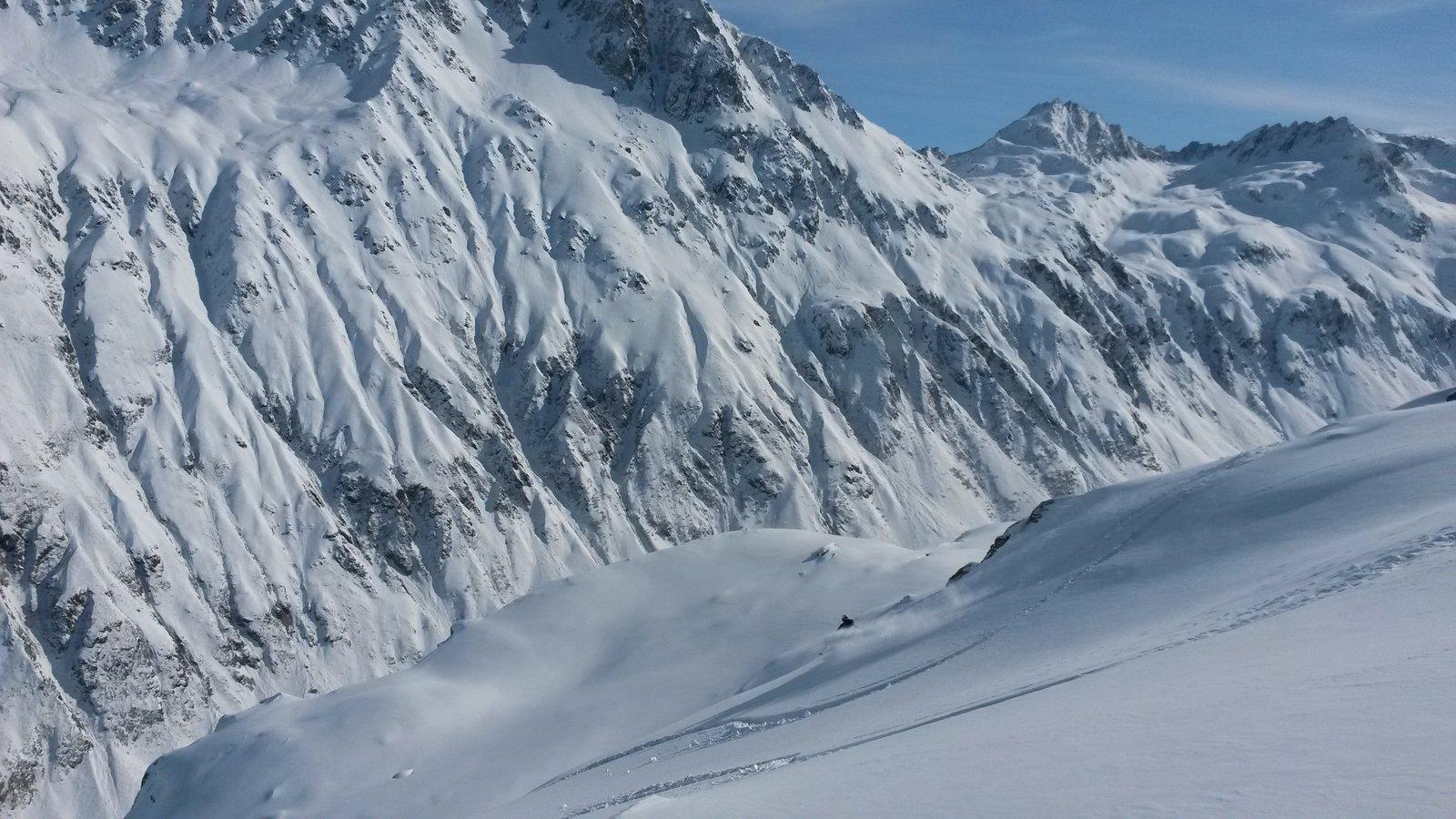 Telemark3, Swiss Alps