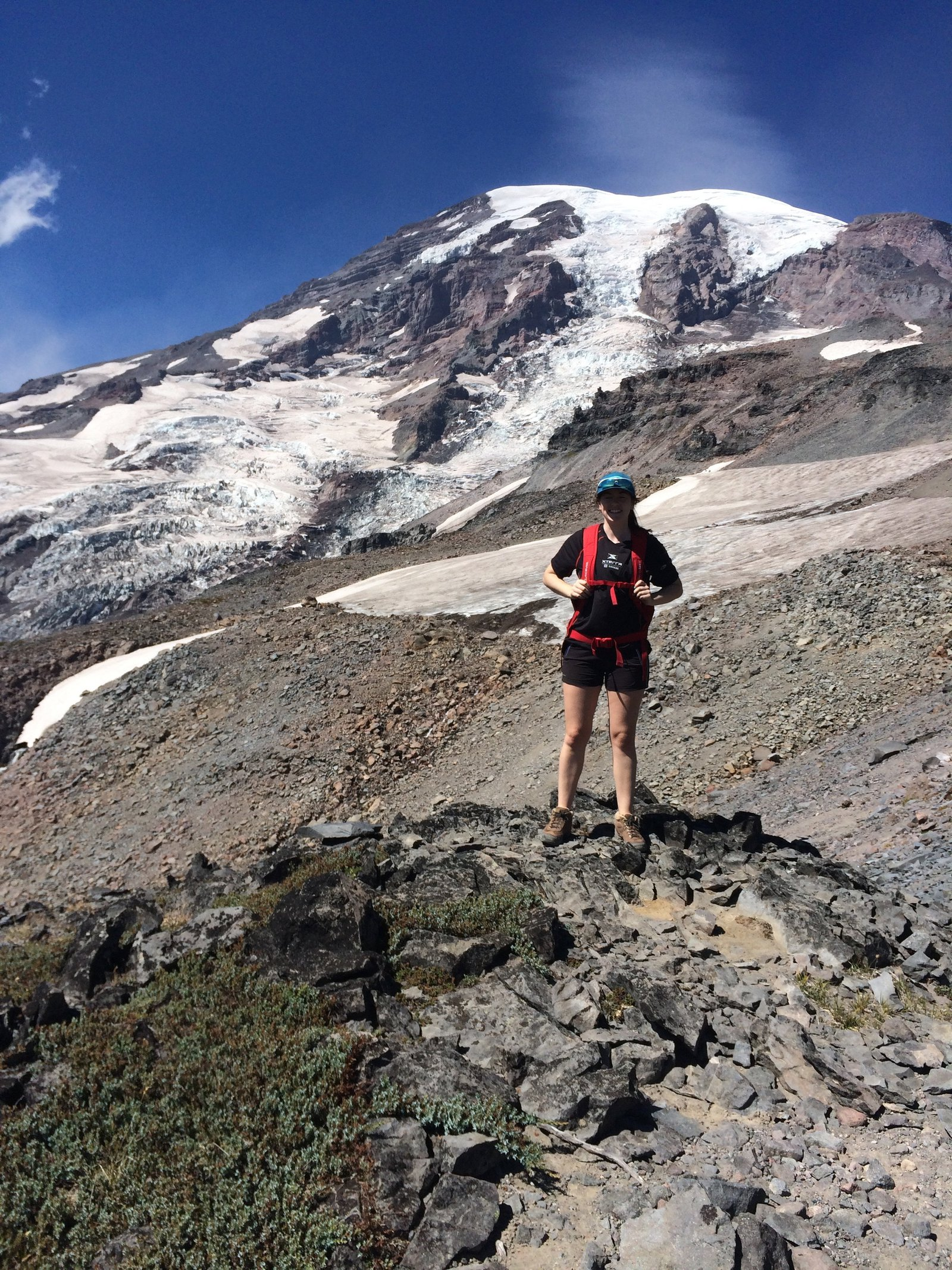 Hiking Mt. Rainier 2015