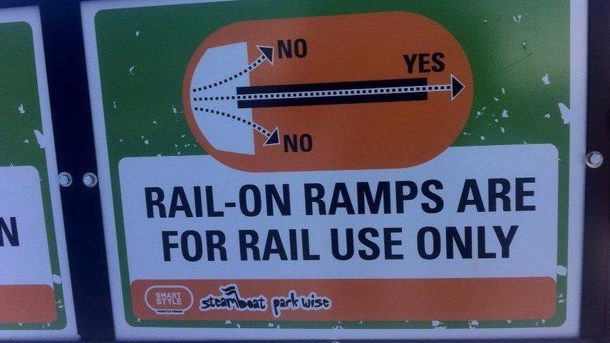 Should Terrain Parks Enforce No Side Jumping?
