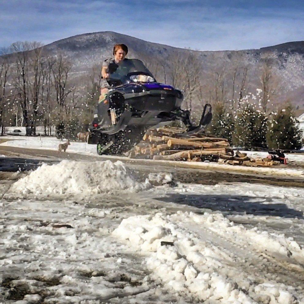 Snowmobile air