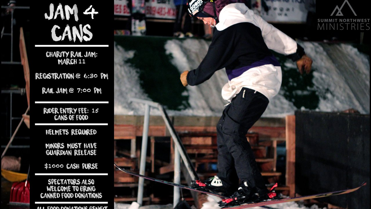 Jam 4 Cans Charity Rail Jam