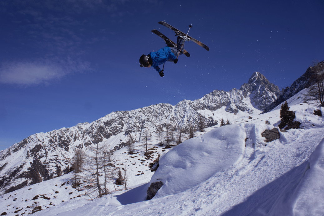 Chamonix Backflip