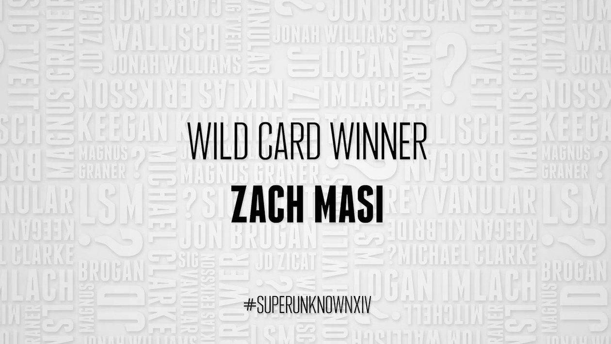 SuperUnknown XIV Wild Card Winner: Zach Masi