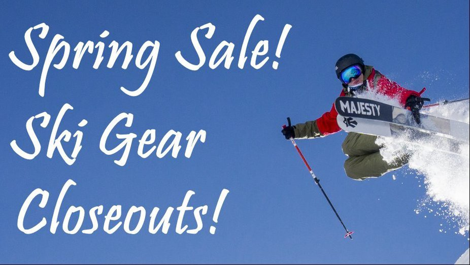 MAJESTY SKIS SPRING SALE & CLEARANCE!