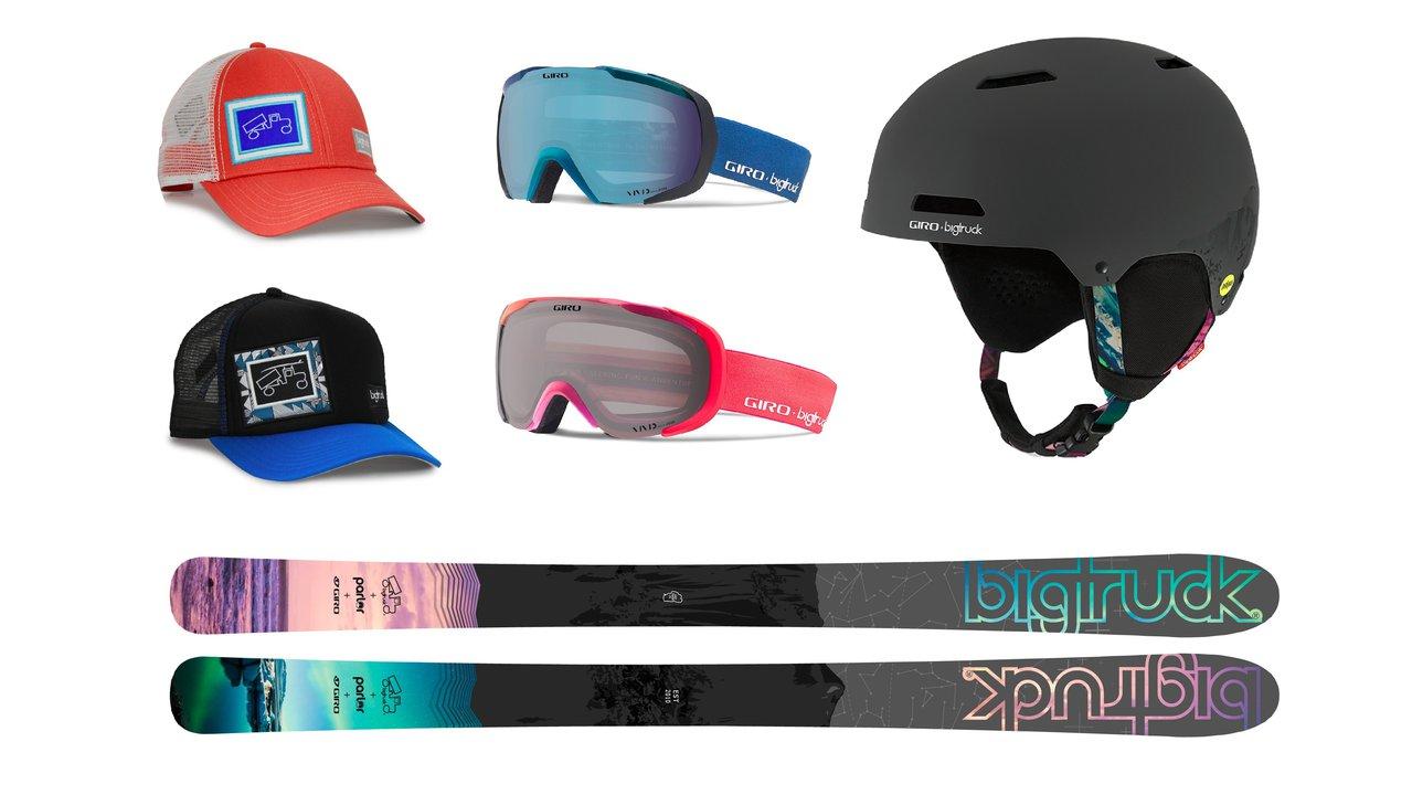 bigtruck + Parlor + Giro Spring Skiing Giveaway