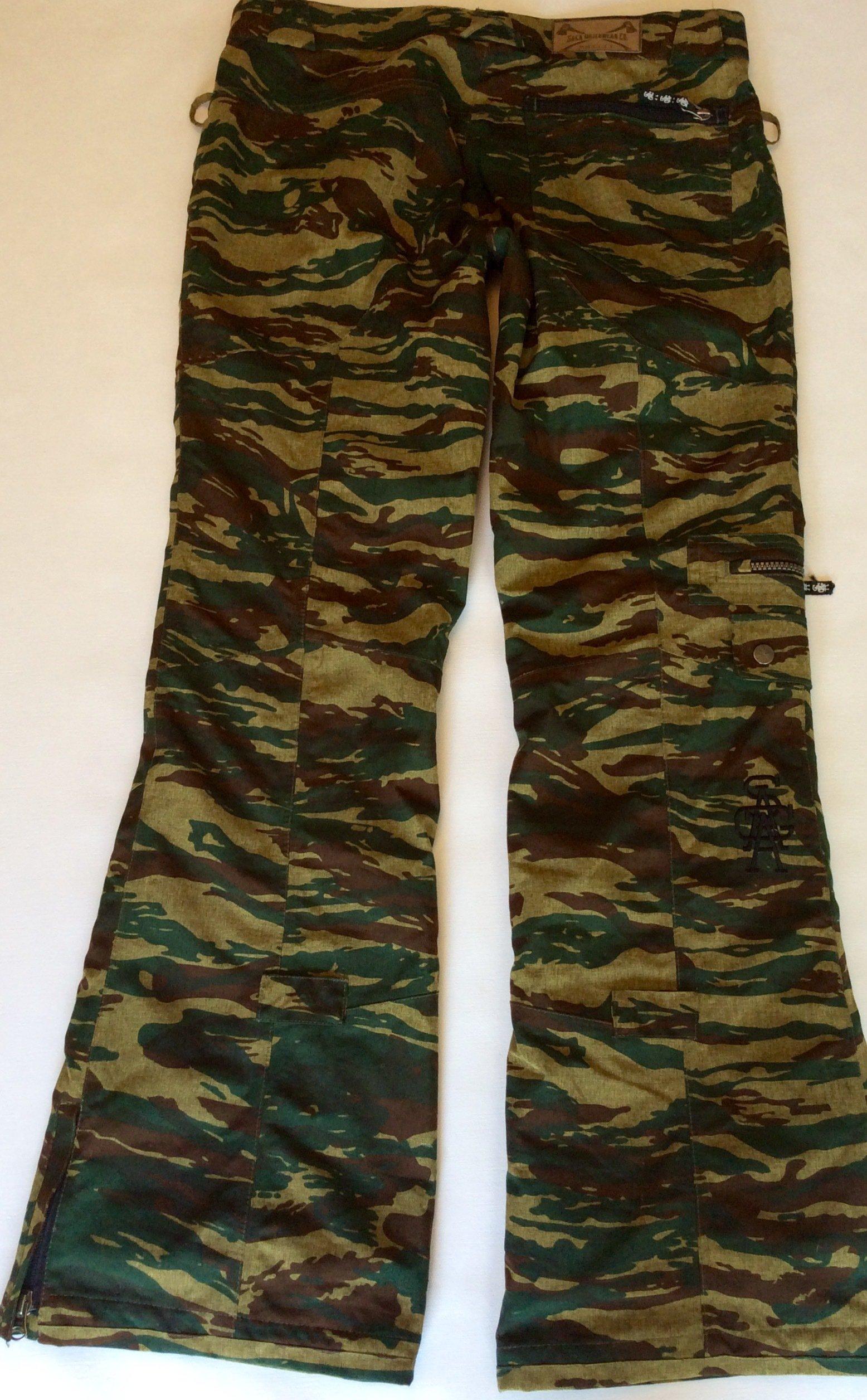Saga outerwear Medium camo fatigues