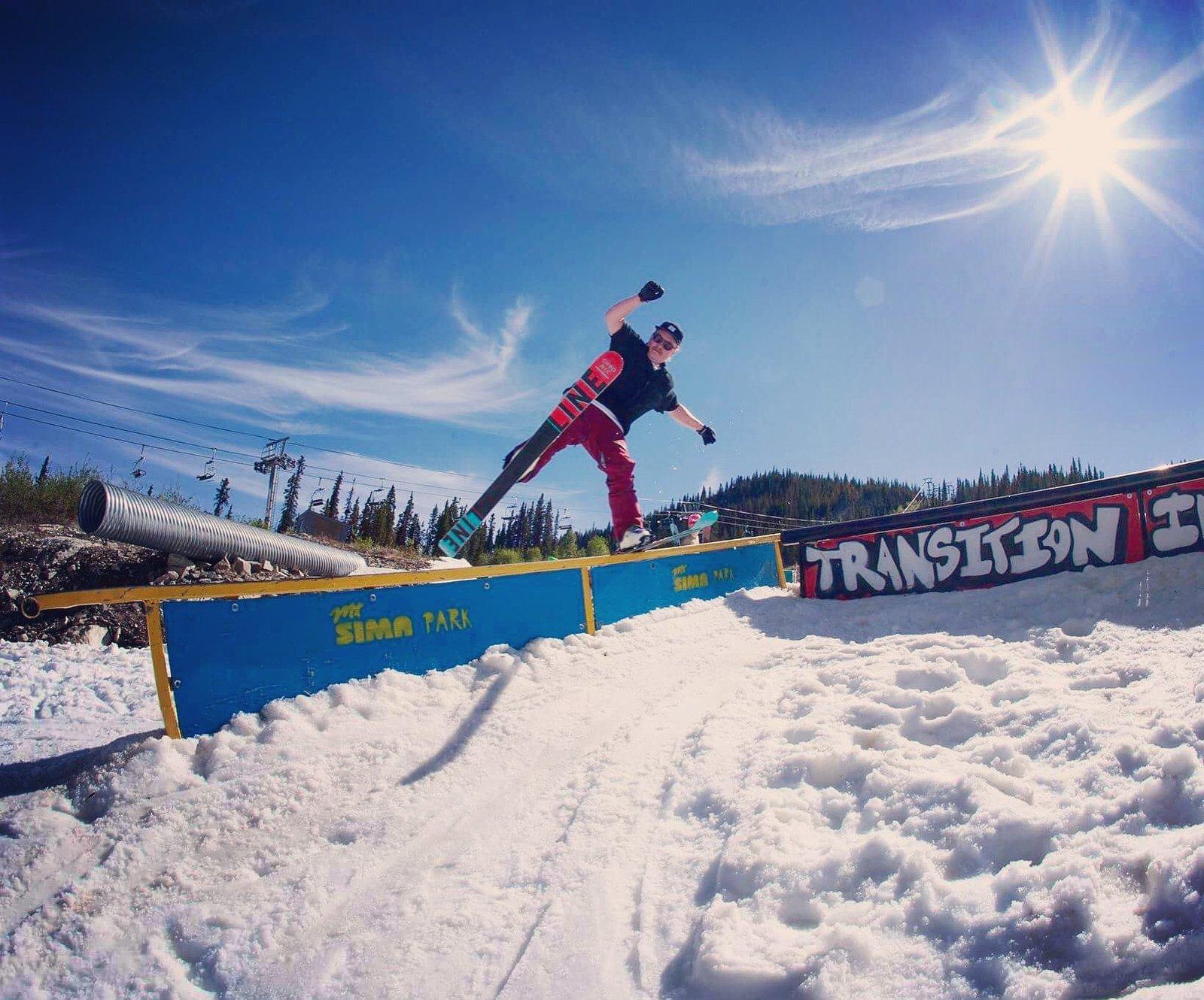 Boogie-Woogie One-Ski