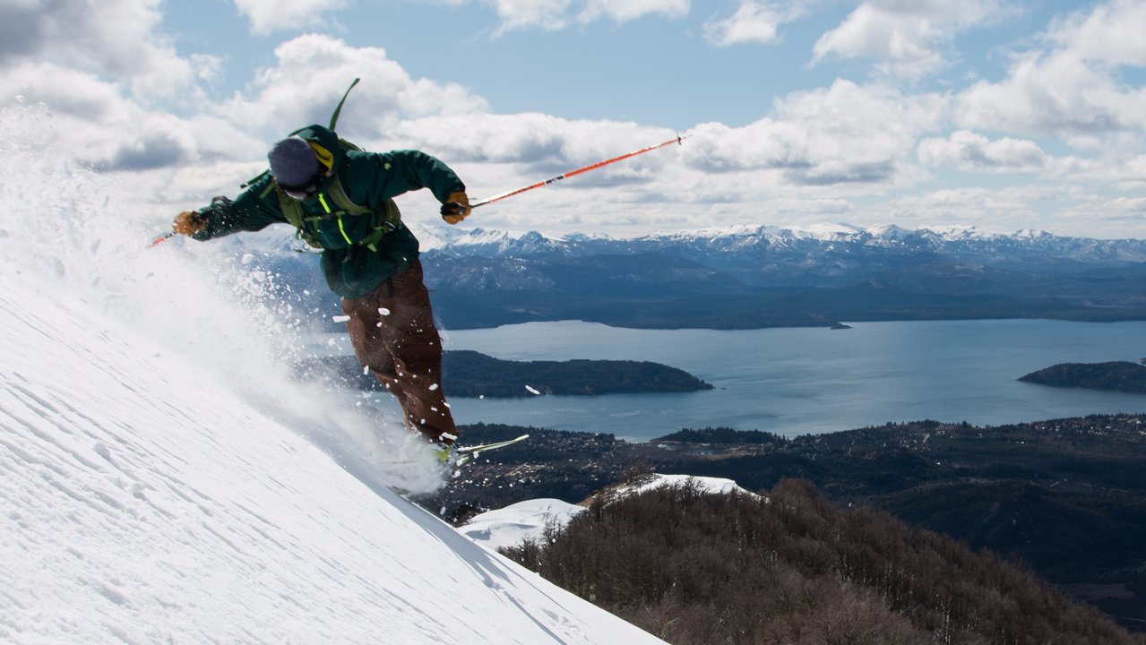 "Meet ""Catedral Ski Resort"" in Patagonia"