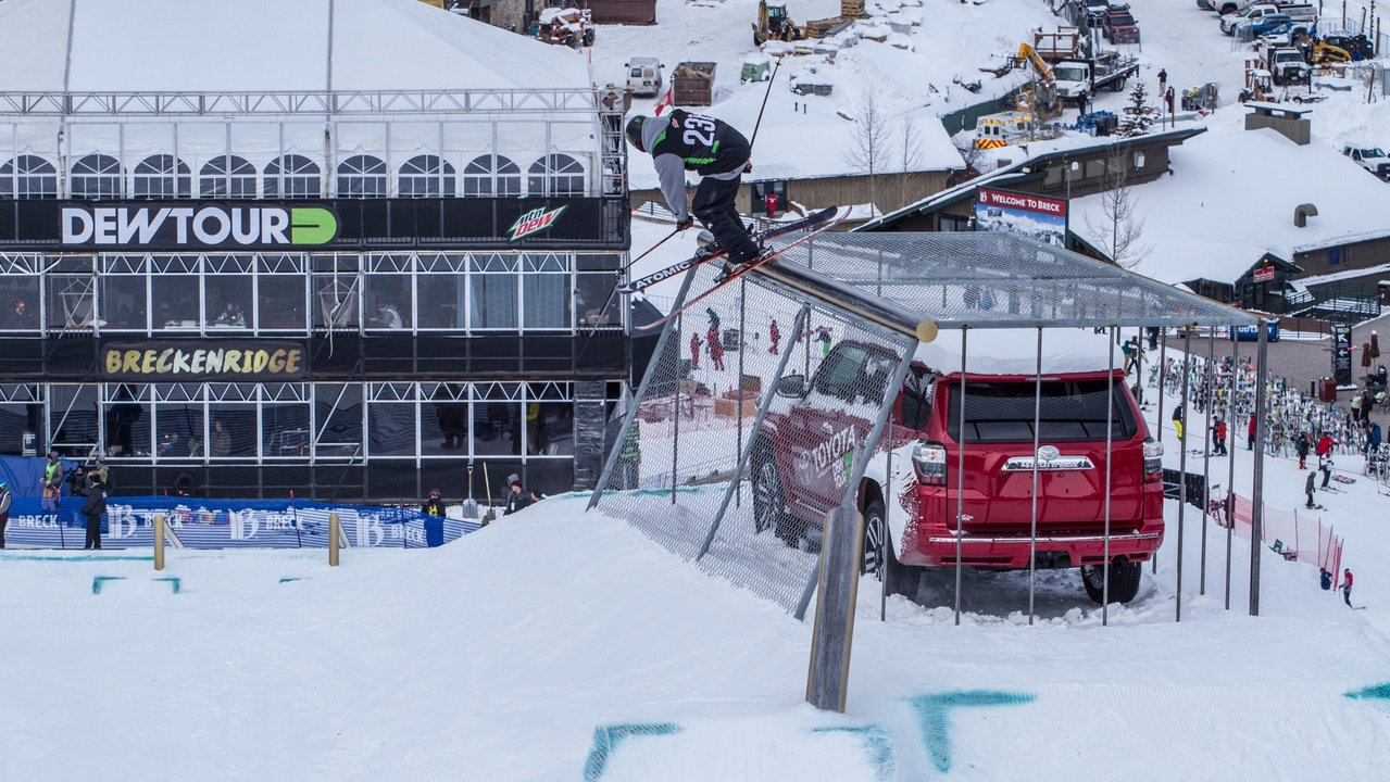 DEW TOUR BRECKENRIDGE TO SERVE AS A U.S. SKI & SNOWBOARD OLYMPIC QUALIFYING EVENT FOR MEN'S AND WOMEN'S FREESKIING