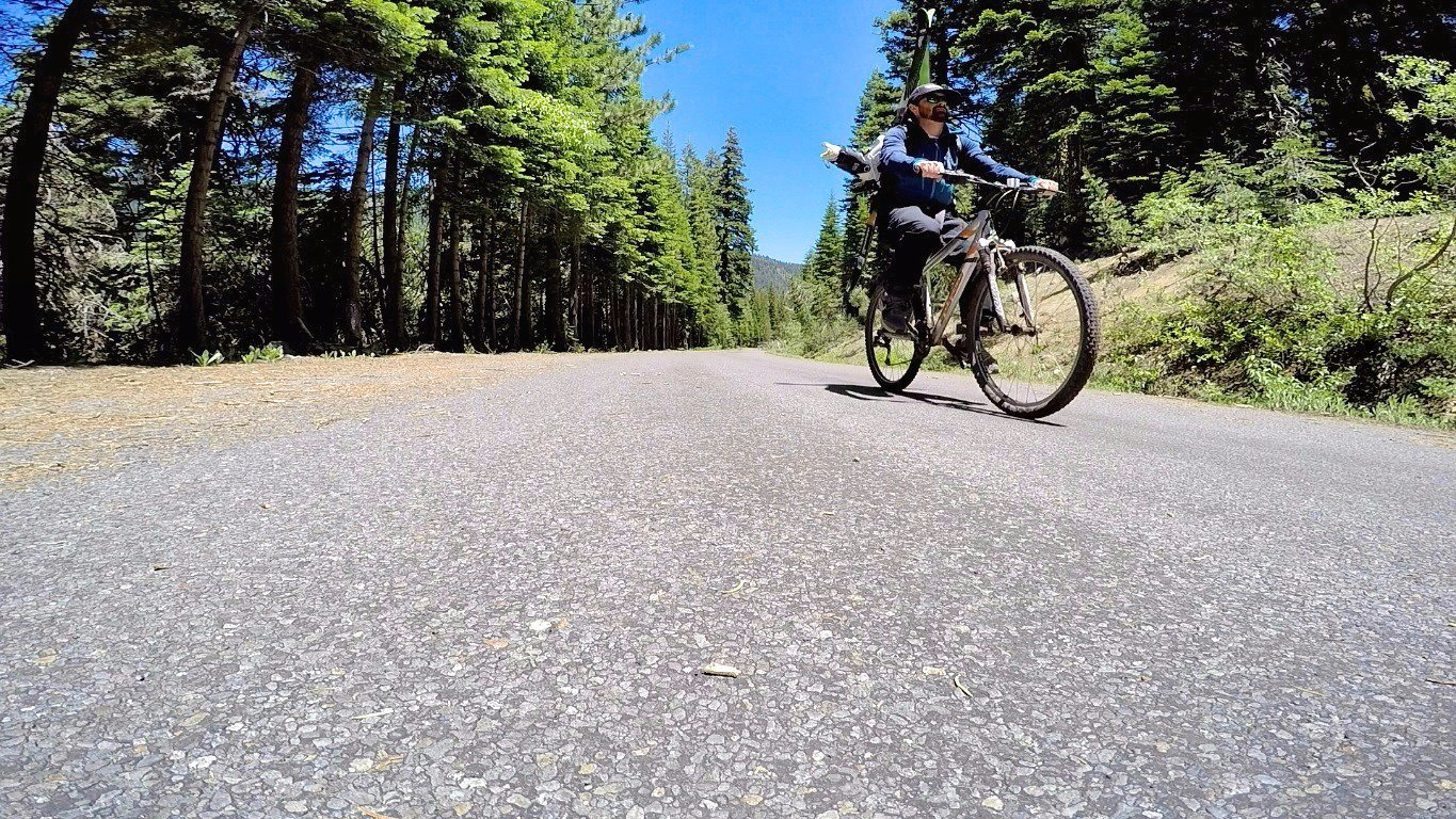 Biking To The Goods