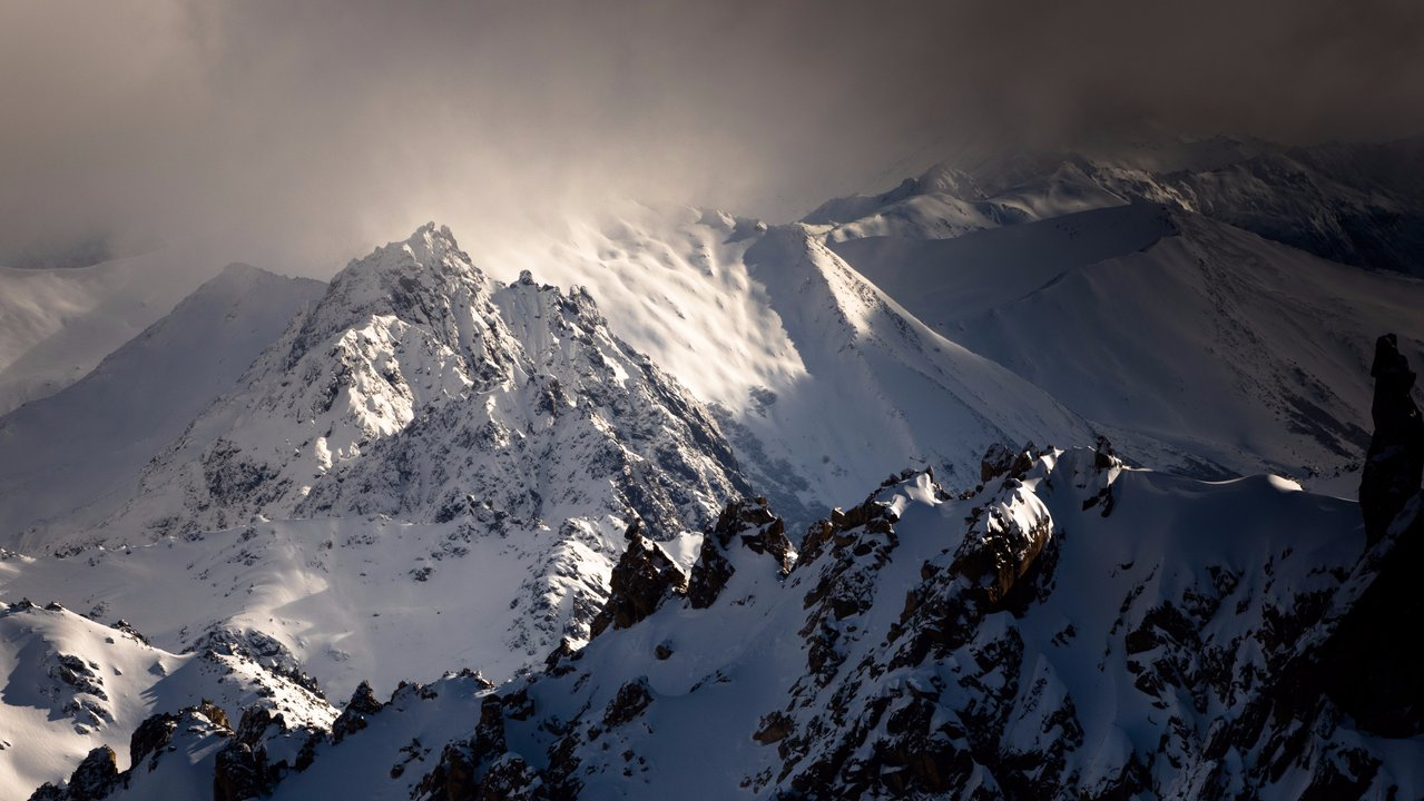 """La Laguna"" Backcountry in Bariloche, Patagonia Argentina."