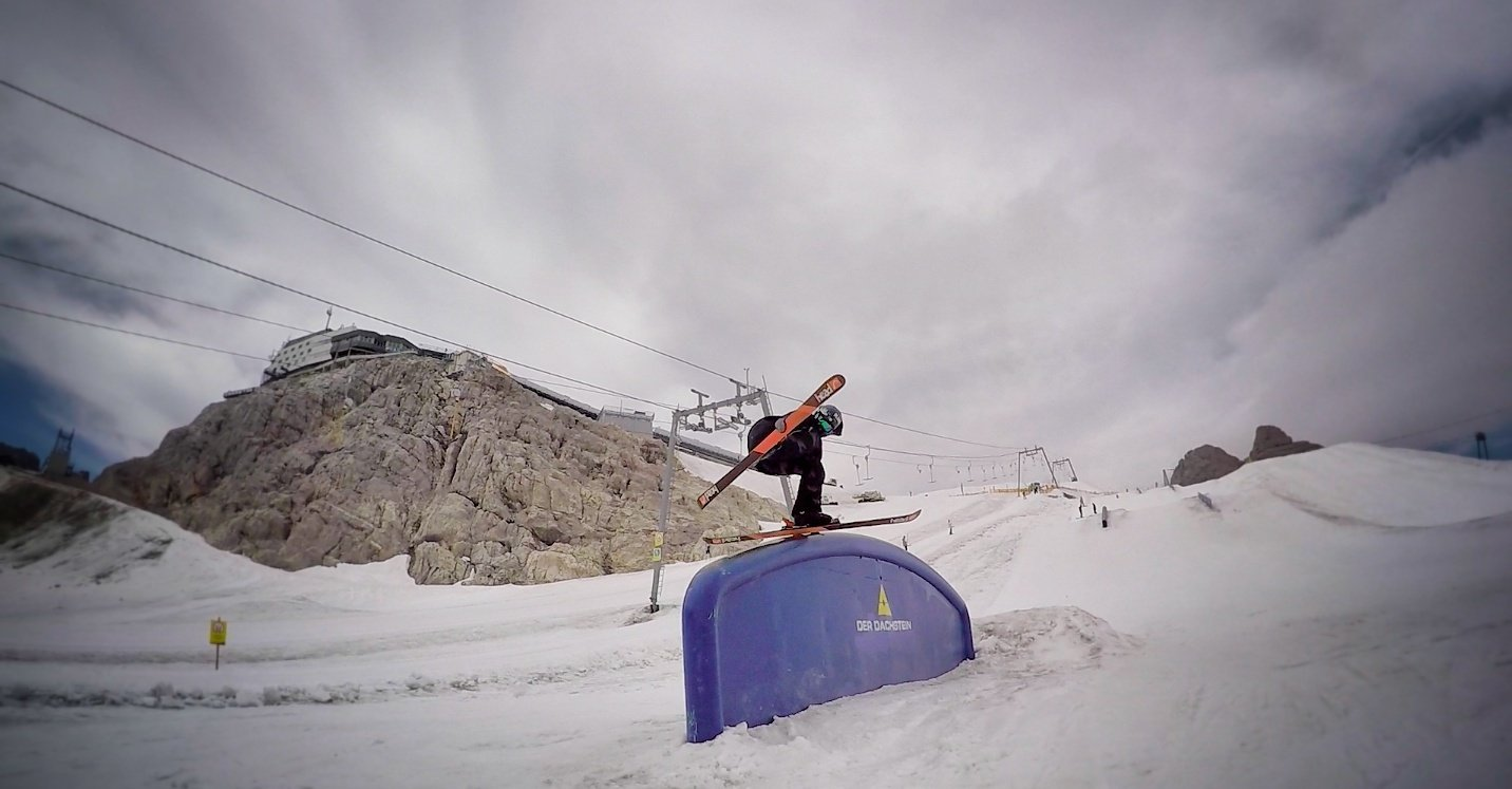 Backslide at Dachstein