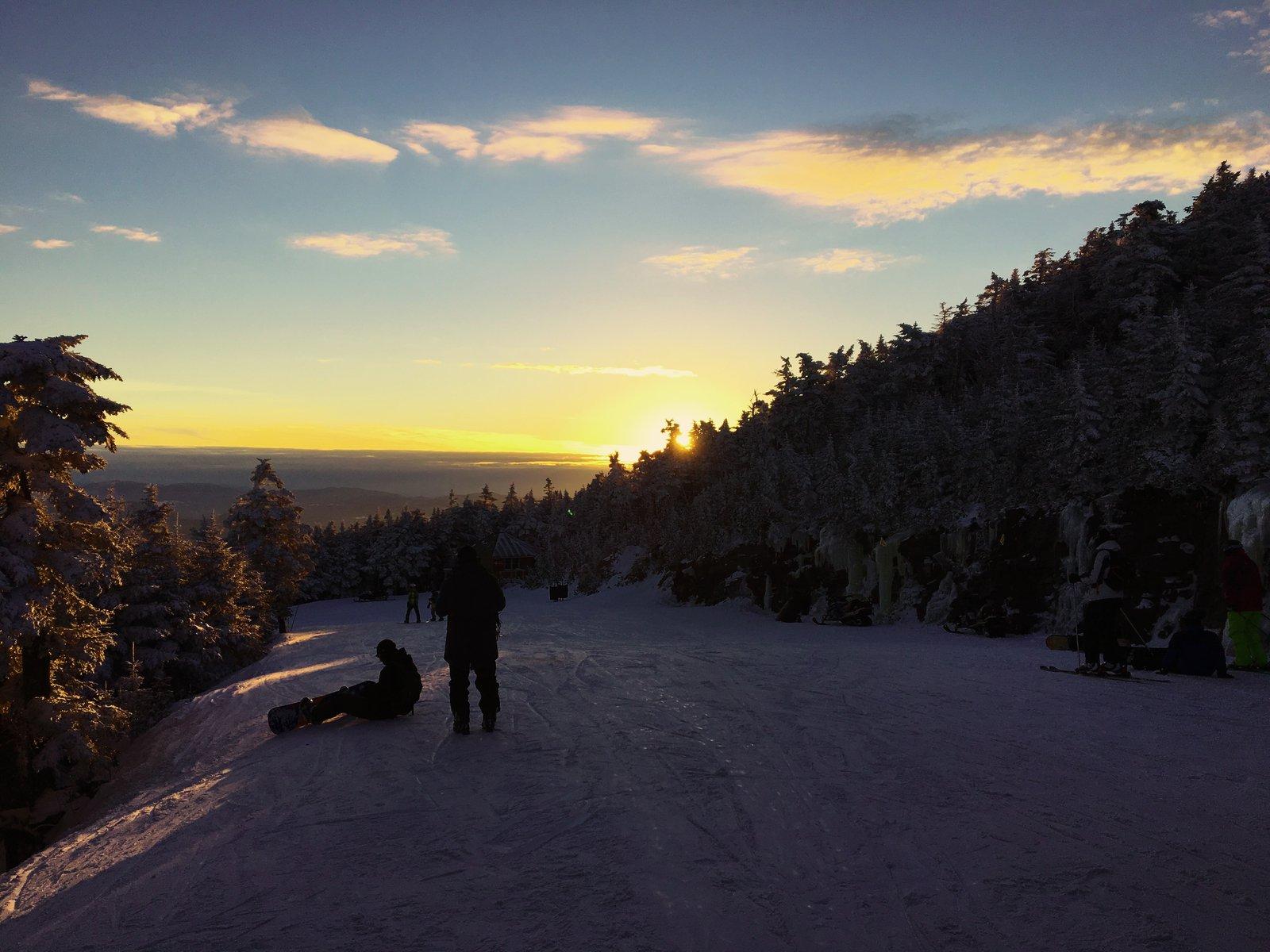 Preseason Sunset