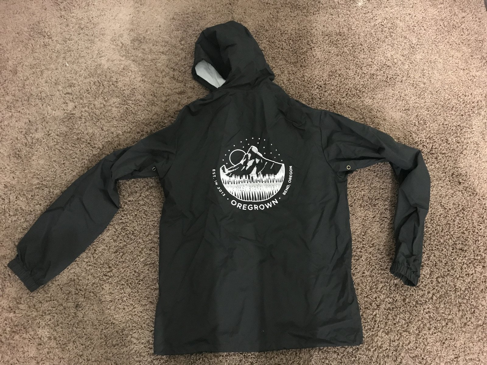 Oregrown Nylon Jacket 2