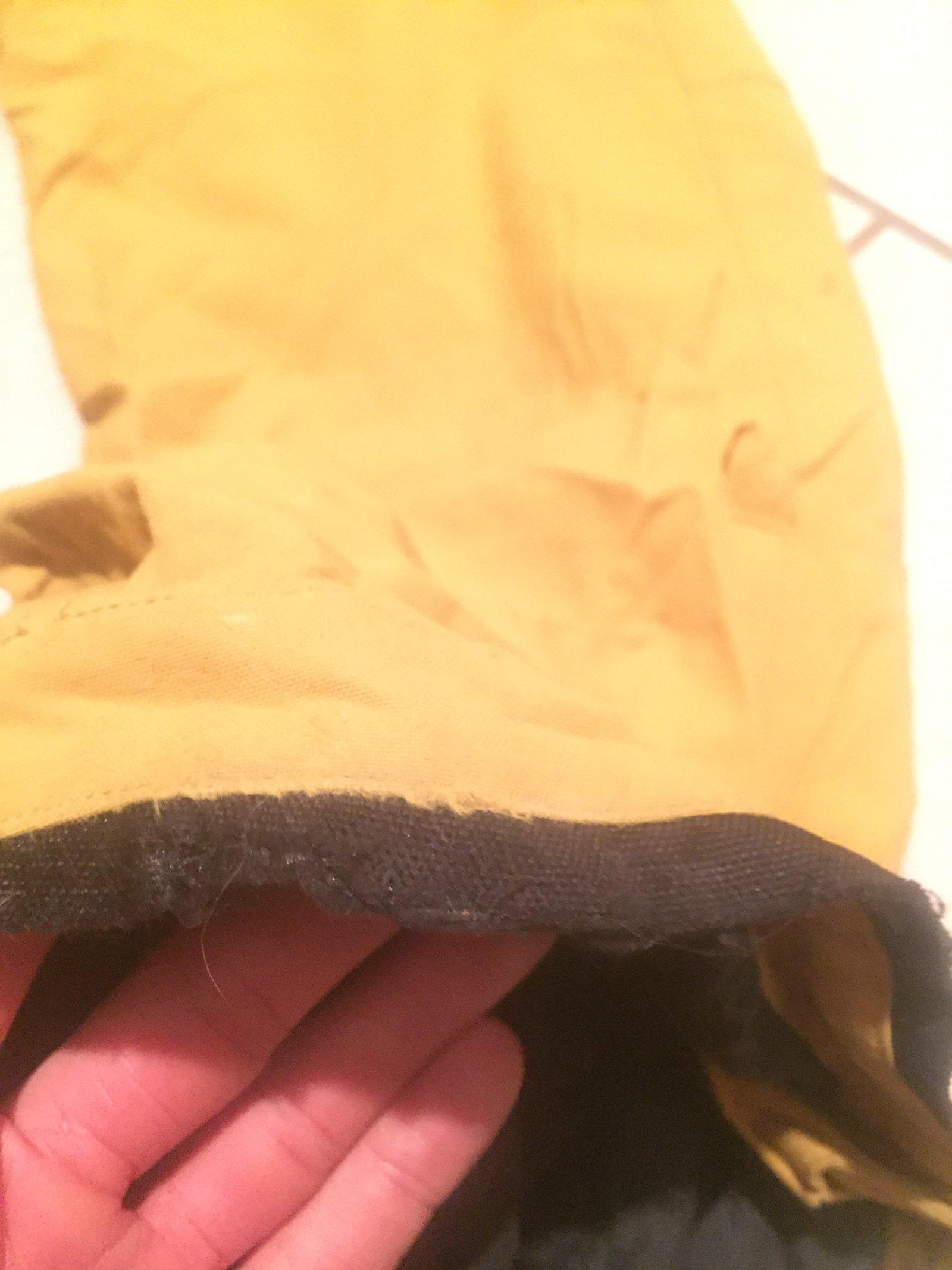 Orage pants medium large mustard