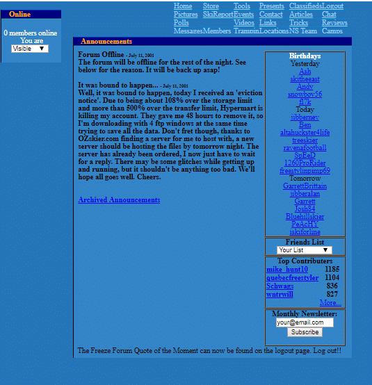 newschoolers dec 4 2000!
