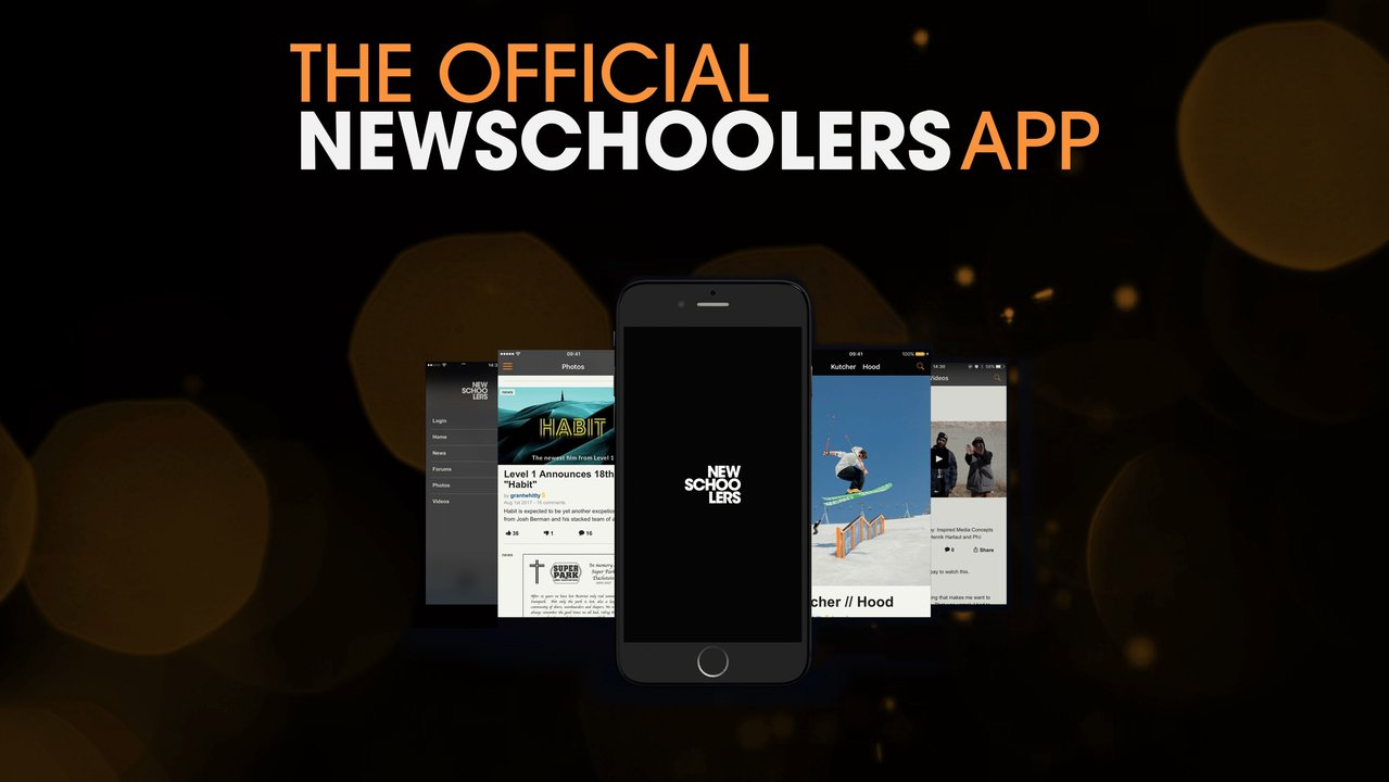 Get The Newschoolers App Now