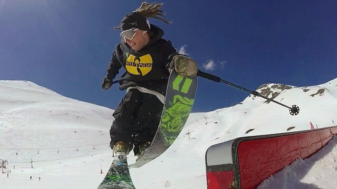 Henrik Harlaut Is The Best Park Skier In The World