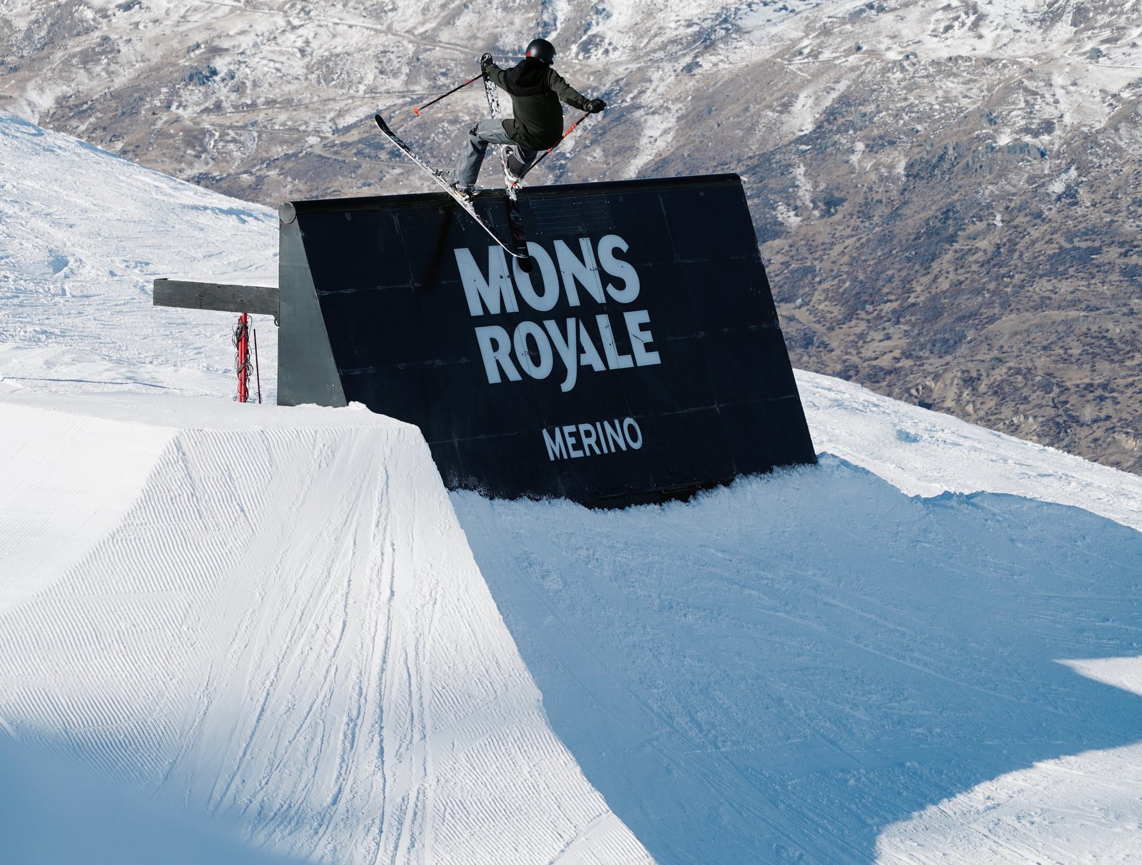 Manu hits the wall @ Cardrona