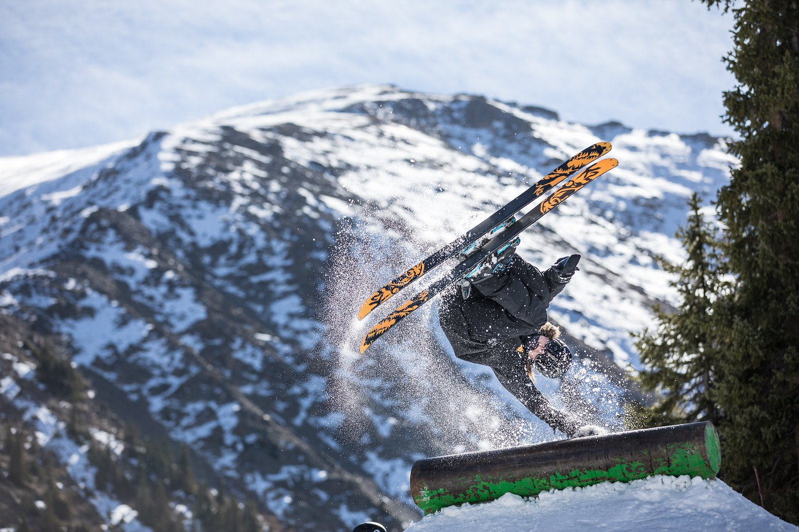 Jack Stys opening day at Abasin