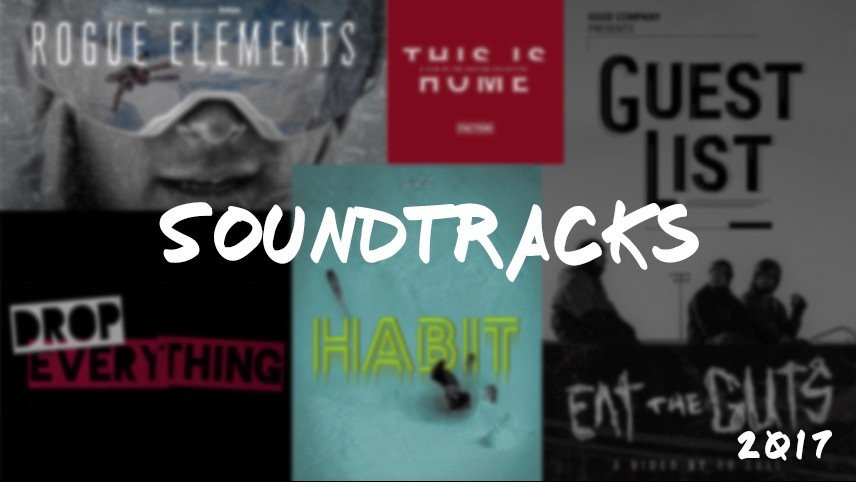 2017 Ski Movie Soundtracks