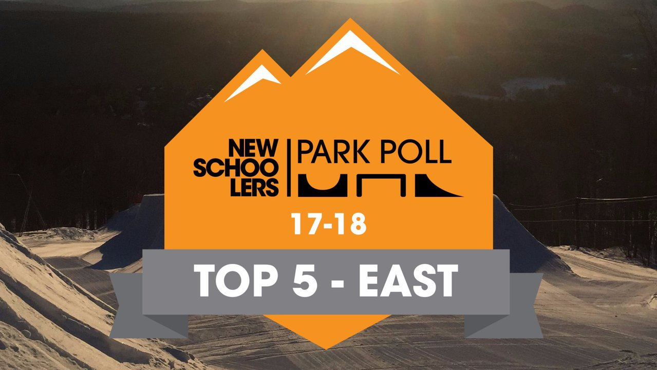 Newschoolers Park Poll 2018 - Top Five East Coast Parks