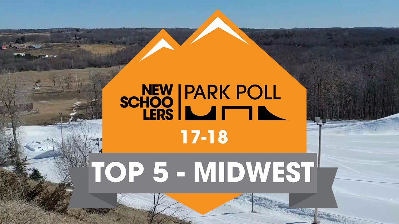 Newschoolers Park Poll 2018 - Top Five Midwest Parks