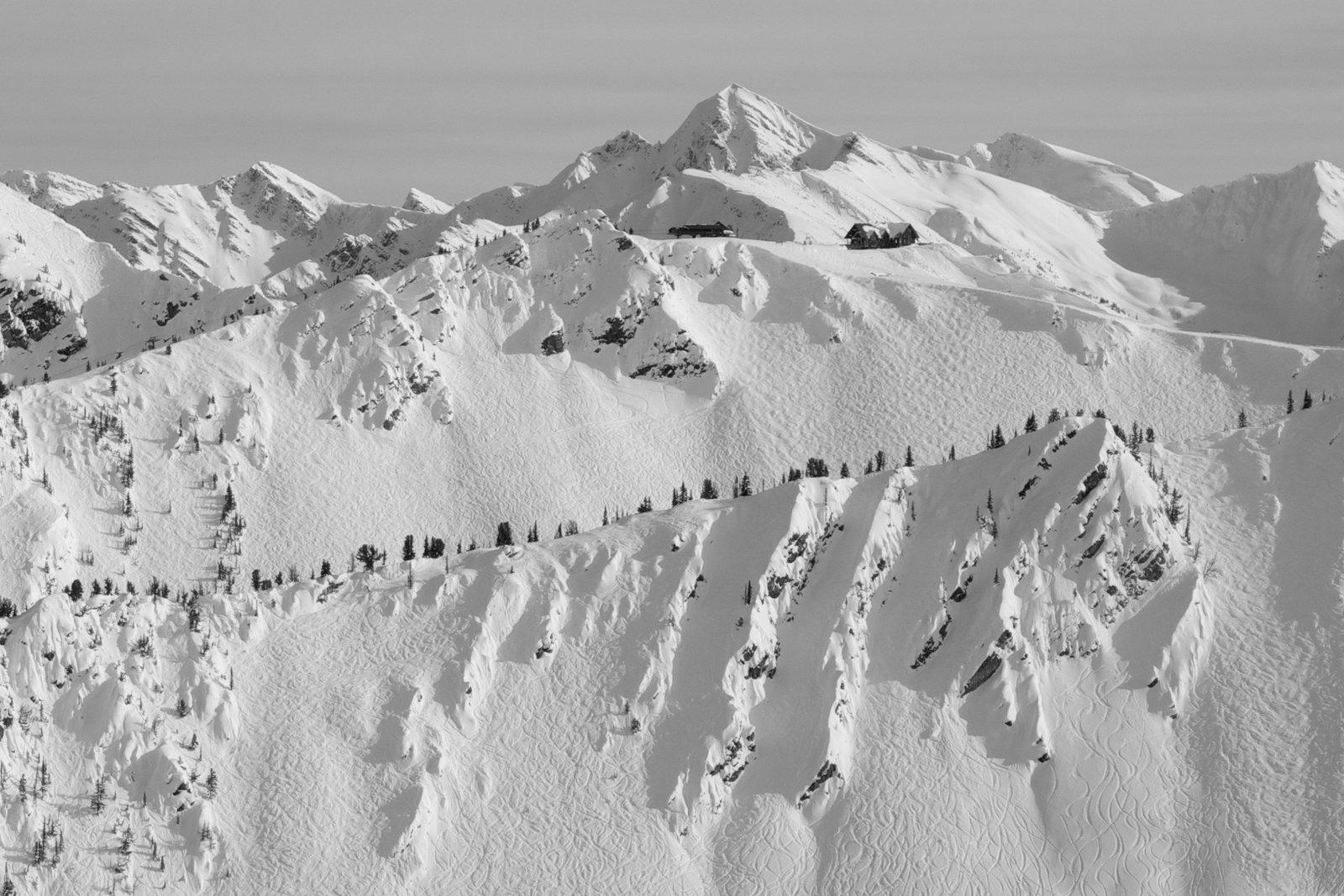 Kicking Horse Ridge Lines