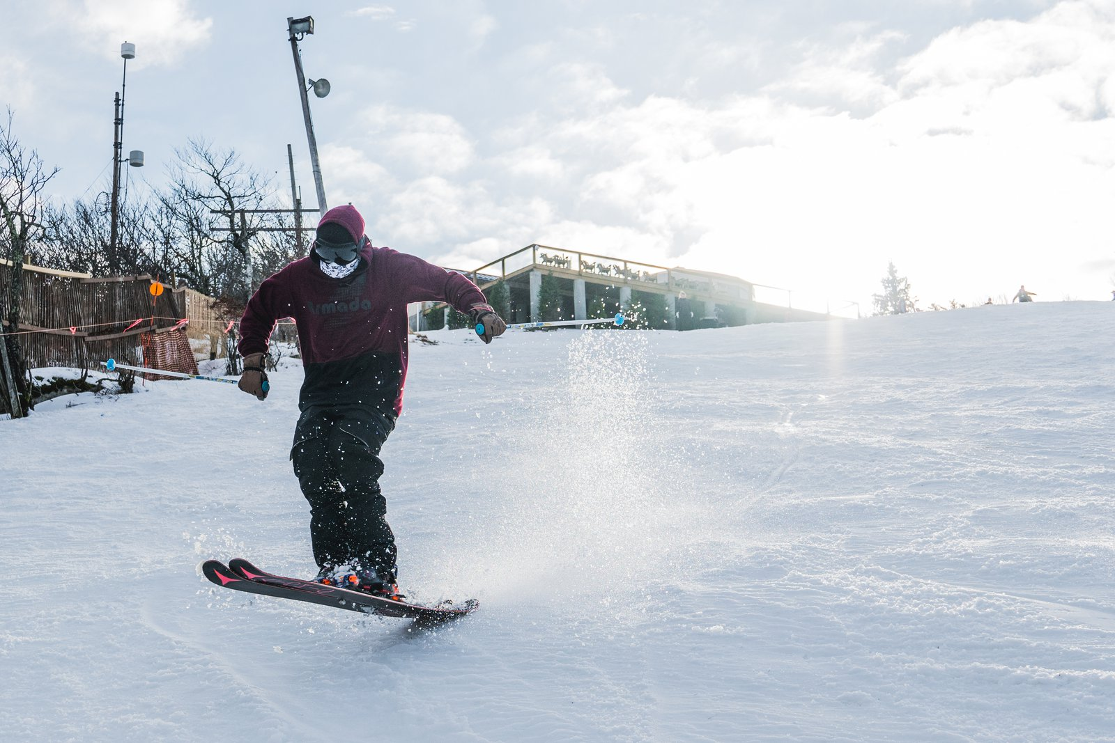 Opening day, Beech mtn NC
