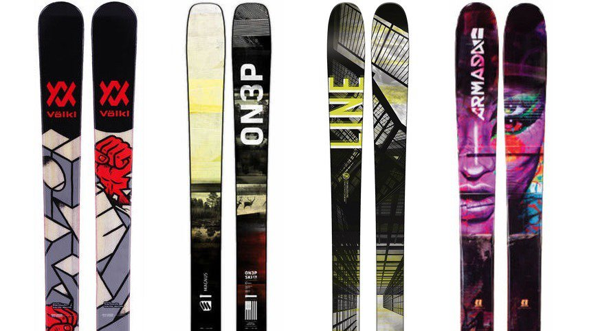 Newschoolers Editors' Picks - Best Park Skis 2017-18