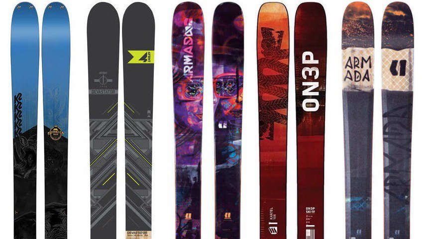 Newschoolers Editors' Picks - Best All Mountain Skis 2017-18