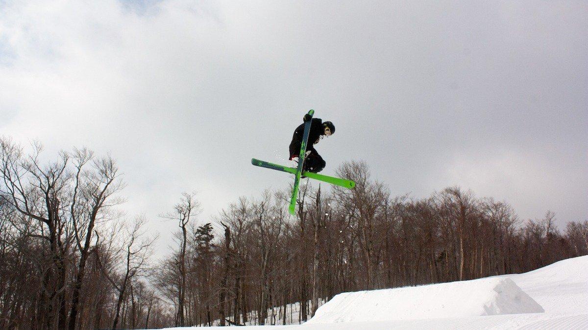 Skier Remains Healthy Despite Best Efforts