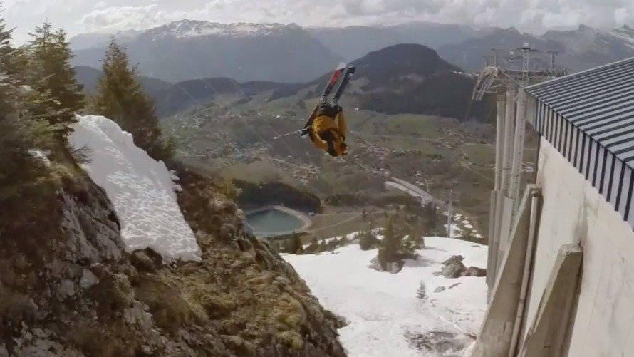Watch: The Ten Craziest Ski Tricks Of 2017