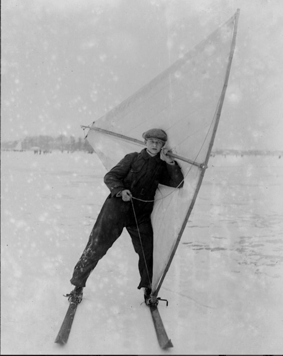 Wind Skiing