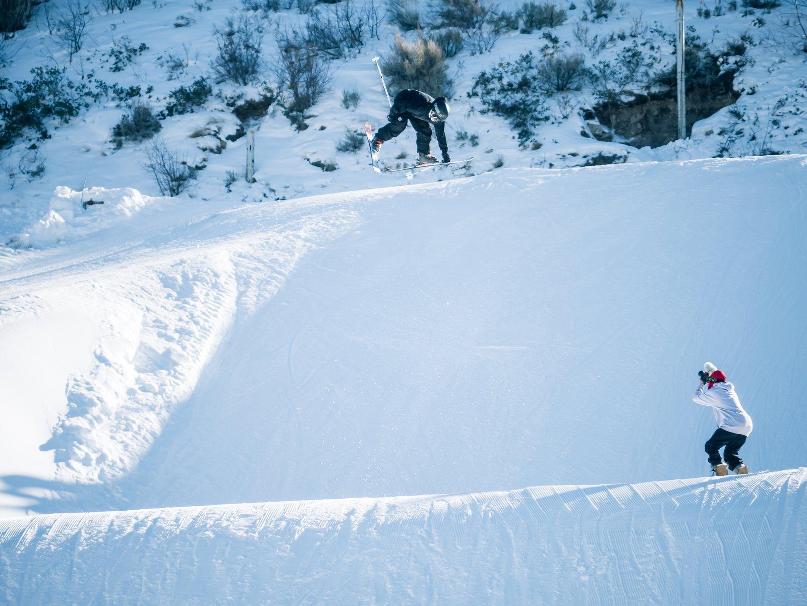 Dub Cork 9 Lead Safety || Utah Olympic Park Jump