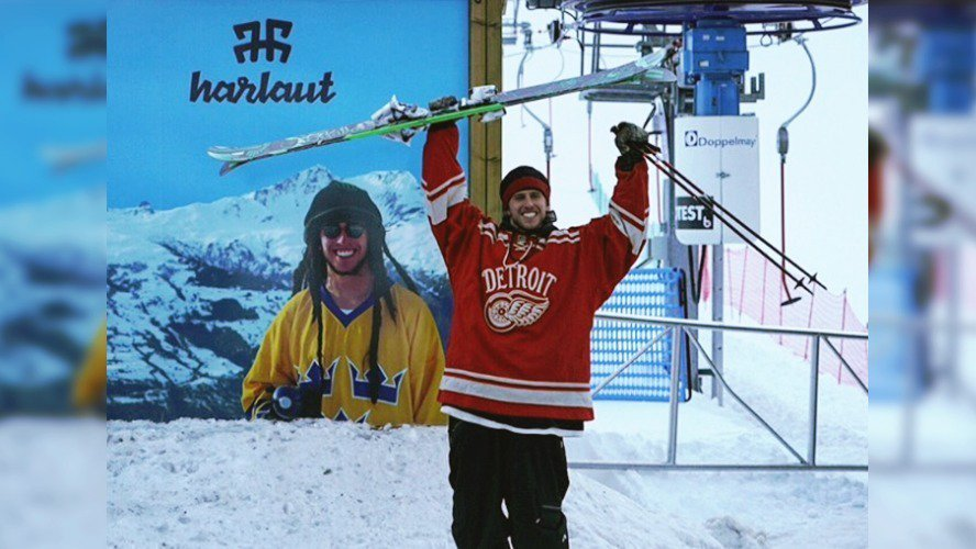 Henrik Harlaut Has Terrain Park Named After Him