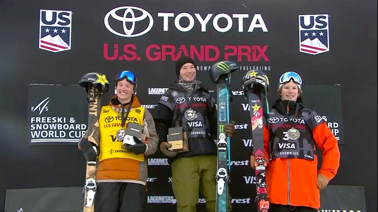 Snowmass Grand Prix 2018 Halfpipe Finals Results