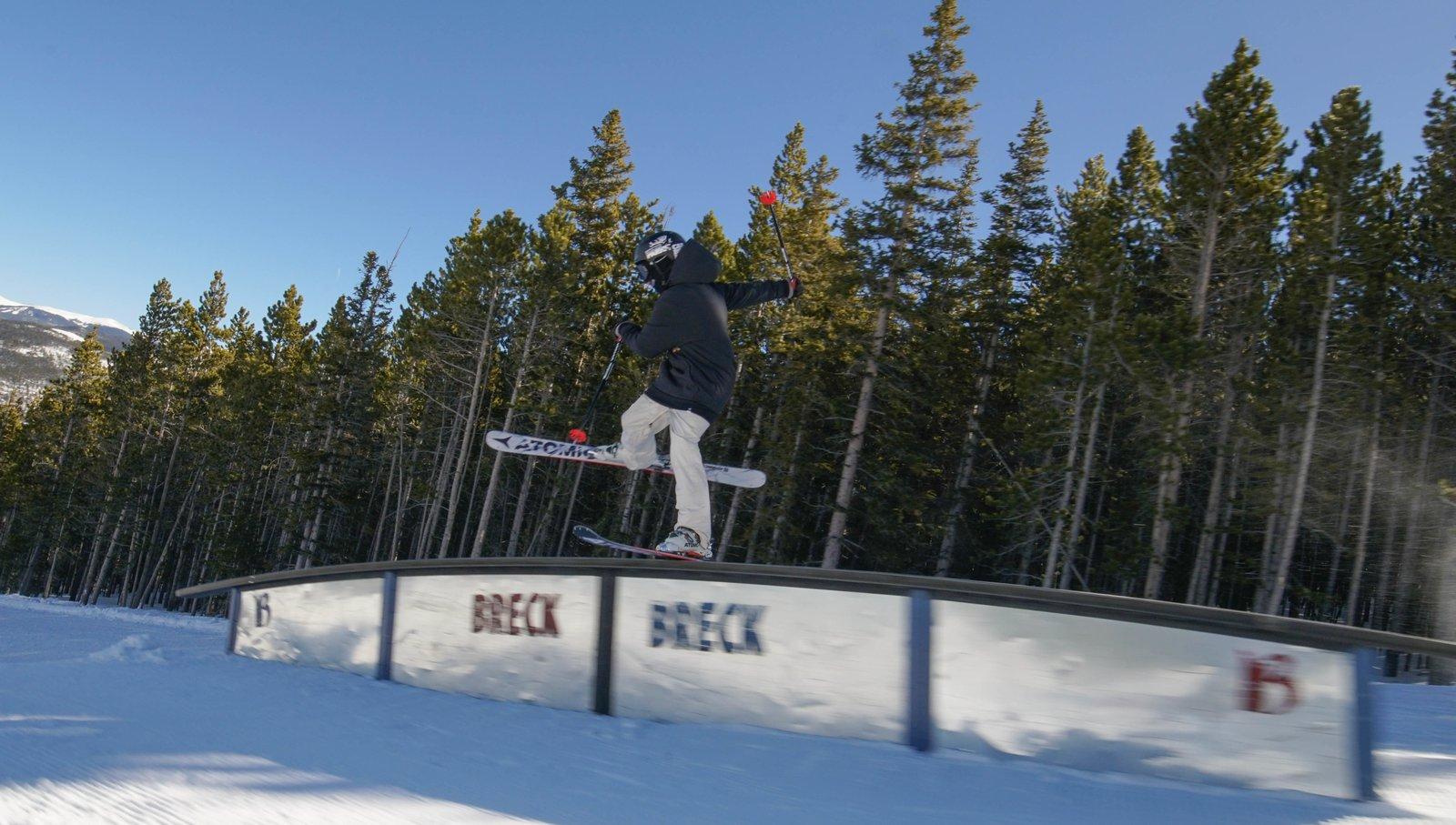 Breck back slide